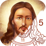 Bible Coloring – Paint by Number Free Bible Games 2.1.5 APK MOD Unlimited Money Download