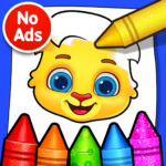 Coloring Games Coloring Book Painting Glow Draw 1.0.5 APK MOD Unlimited Money Download