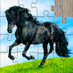Horse Jigsaw Puzzles Game – For Kids Adults 25.0 APK MOD Unlimited Money Download