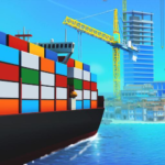 Sea Port Build Town Ship Cargo in Strategy Sim 1.0.115 APK MOD Unlimited Money Download