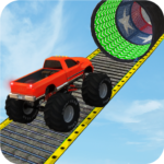 Monster Truck Stunt Race Impossible Track Games 1.9 APK MOD Unlimited Money Download