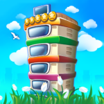 Pocket Tower Building Game Megapolis Kings 3.14.25 APK MOD Unlimited Money Download