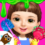 Sweet Baby Girl Cleanup 5 – Messy House Makeover 6.0.32 APK MOD Unlimited Money Download