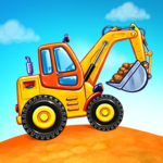Truck games for kids – build a house car wash 4.0.6 MOD Unlimited Money Download