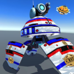 US Police Futuristic Robot Transform Shooting Game 2.0.4 MOD Unlimited Money Download