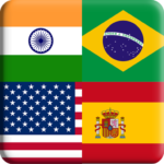 Flags Quiz Gallery Quiz flags name and color Flag 1.0.176 MOD Unlimited Money Download