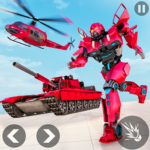 Helicopter Transform War Robot Hero Tank Shooting 1.1 MOD Unlimited Money Download