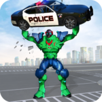 Incredible Monster Robot Hero Crime Shooting Game 1.9 MOD Unlimited Money Download