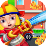 Firefighters Fire Rescue Kids – Fun Games for Kids 1.0.9 MOD Unlimited Money Download