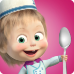 Masha and Bear Cooking Dash 1.3.6 MOD Unlimited Money Download