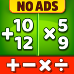 Math Games – Addition Subtraction Multiplication 1.0.5 MOD Unlimited Money Download