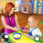 New Baby Single Mom Family Adventure 1.1.0 MOD Unlimited Money Download