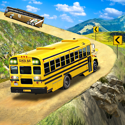 Offroad School Bus Driving Flying Bus Games 2020 1.38 MOD Unlimited Money Download
