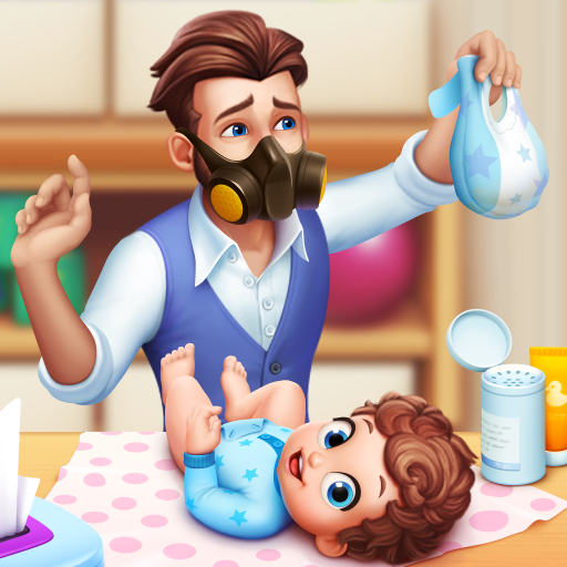 Baby Manor Baby Raising Simulation Home Design 1.1.2 MOD Unlimited Money Download