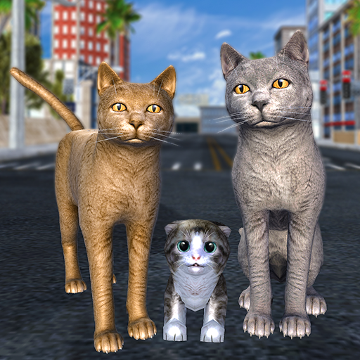 Cat Family Simulator Stray Cute Kitty Game 10.1 MOD Unlimited Money Download