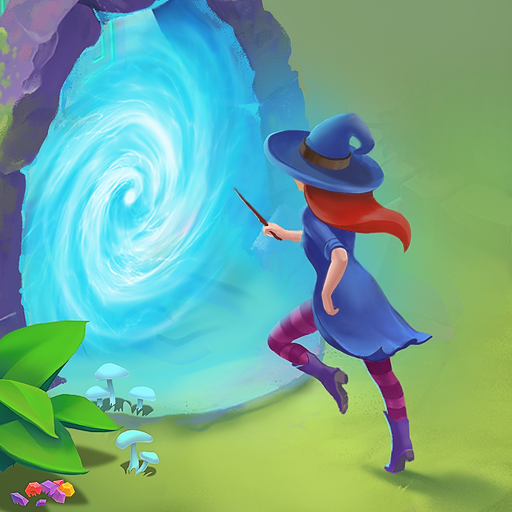 Charms of the Witch Magic Mystery Match 3 Games 2.30.1 MOD Unlimited Money Download
