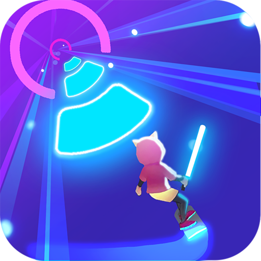 Cyber Surfer Free Music Game – the Rhythm Knight 0.1.03 MOD Unlimited Money Download