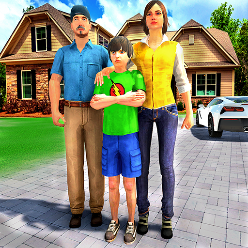 Happy Family Life Dad Mom – Virtual Housewife Care 1.1 MOD Unlimited Money Download