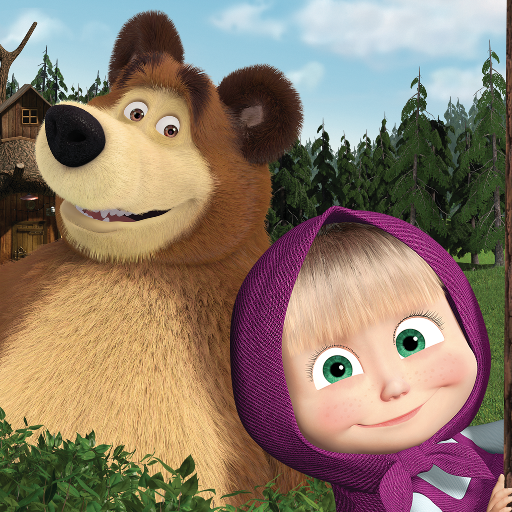 Masha and the Bear. Educational Games 5.5 MOD Unlimited Money Download
