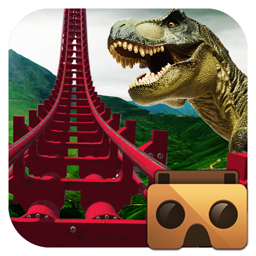 Real Dinosaur RollerCoaster VR 2.9 MOD Unlimited Money Download