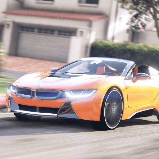 Driver BMW I8 Night City 11.1 MOD Unlimited Money Download