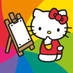 Hello Kitty Coloring Book MOD Unlimited Money Download
