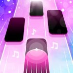 Magic Pink Tiles Piano Game 1.0.4 MOD Unlimited Money Download