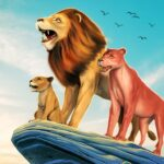 The Lion Simulator Animal Family Game MOD Unlimited Money Download