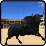 Angry Bull Attack Shooting MOD Unlimited Money Download