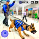 US Police Dog Shopping Mall Crime Chase 2021 MOD Unlimited Money Download