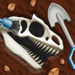 Dino Quest Dig Discover Dinosaur Game Fossils 1.8.3 MOD Unlimited Money Download