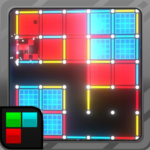 Dots and Boxes Neon 80s Style Cyber Game Squares MOD Unlimited Money Download