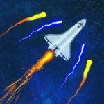 Space Storm Asteroids Attack 1.8.4 MOD Unlimited Money Download