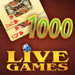 Thousand LiveGames – free online card game 1000 4.02 MOD Unlimited Money Download
