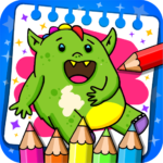 Fantasy – Coloring Book Games for Kids 1.21 MOD Unlimited Money Download
