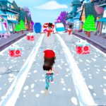 Happy Holiday Runner 3D 1.4 MOD Unlimited Money Download