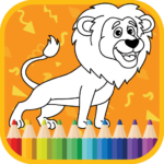 Kids Coloring Book Cute Animals Coloring Pages MOD Unlimited Money Download