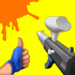 Paintball Shoot 3D – Knock Them All MOD Unlimited Money Download