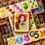 Sheriff of Mahjong Match tiles restore a town MOD Unlimited Money Download