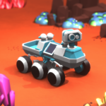 Space Rover Idle planet mining tycoon simulator MOD Unlimited Money Download