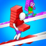 Bridge Run Stairs Build Competition MOD Unlimited Money Download