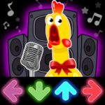Dancing Chicken FNF music game MOD Unlimited Money Download