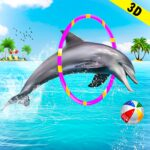 Dolphin Water Stunts Show MOD Unlimited Money Download
