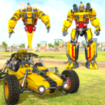 Flying Ghost Robot Car Game MOD Unlimited Money Download
