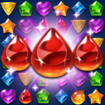 Jewels Atlantis Match-3 Puzzle matching game MOD Unlimited Money Download