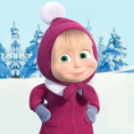 Masha and The Bear Xmas shopping MOD Unlimited Money Download