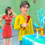 Real Family Simulator- Home Design MOD Unlimited Money Download
