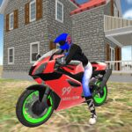 real moto bike racing- police cars chase game 2019 MOD Unlimited Money Download