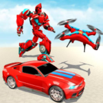 Drone Robot Transforming Game MOD Unlimited Money Download