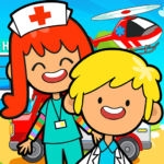 My Pretend Hospital – Kids Hospital Town Life MOD Unlimited Money Download